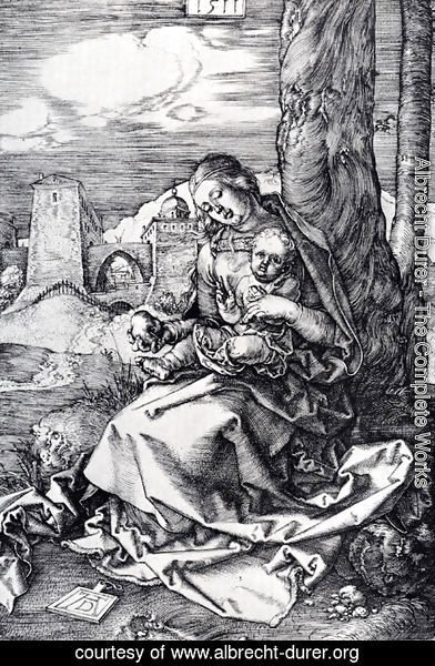 Albrecht Durer - Madonna With The Pear