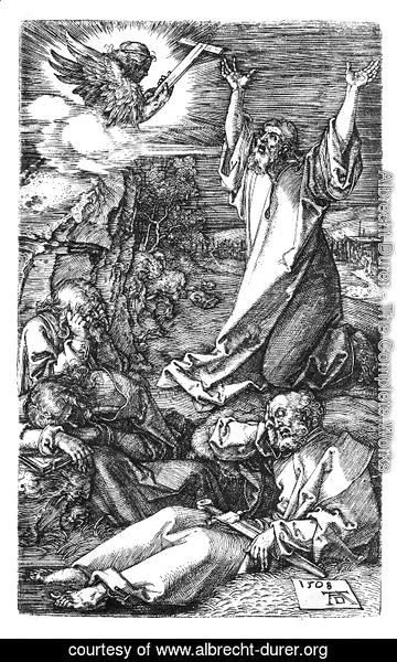 Albrecht Durer - Agony In The Garden (Engraved Passion)