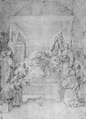 Albrecht Durer - The Death Of The Virgin