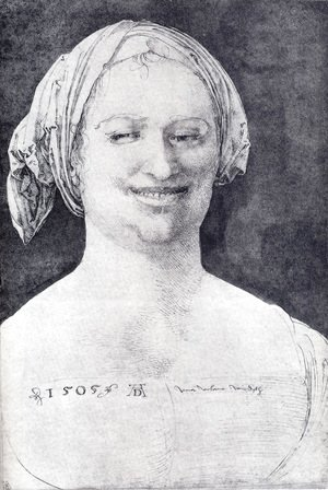 Laughing Peasant Woman