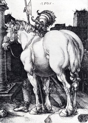 Albrecht Durer - The Large Horse