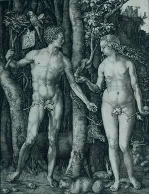 Albrecht Durer - The Fall