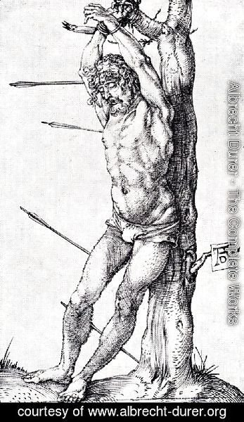 Albrecht Durer - St  Sebastian At The Tree