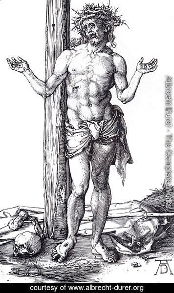 Albrecht Durer - Man Of Sorrows With Hands Raised