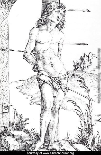 St Sebastian At The Column   First State