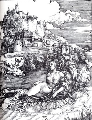 Albrecht Durer - The Sea Monster