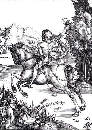 Albrecht Durer - The Small Courier