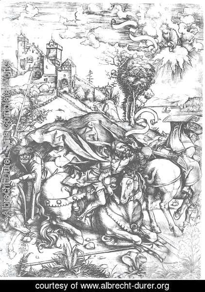 Albrecht Durer - The Conversion Of St  Paul
