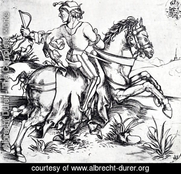 Albrecht Durer - The Great Courier