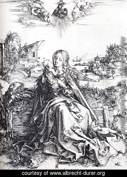 Albrecht Durer - The Virgin With The Dragonfly