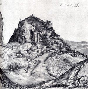 Albrecht Durer - The Citadel Of Arco In The South Tyrol