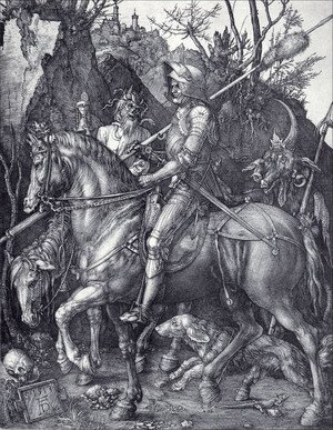 Albrecht Durer - The Knight  Death And The Devil