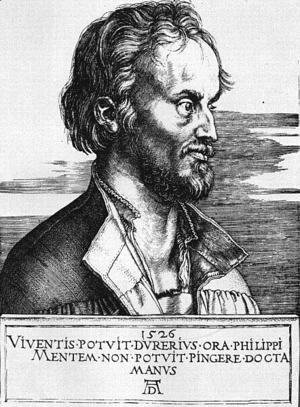 Portrait Of Philip Melanchthon