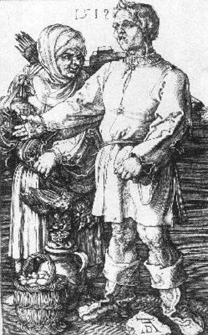 Albrecht Durer - Peasants At The Market