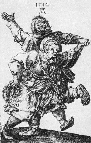Albrecht Durer - Dancing Peasants
