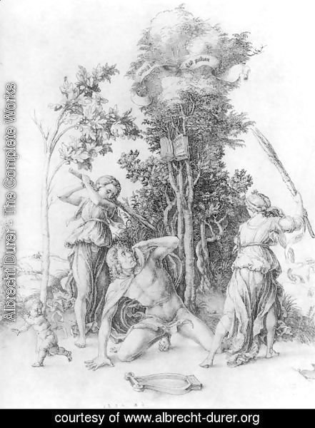 Albrecht Durer - The Death Of Orpheus