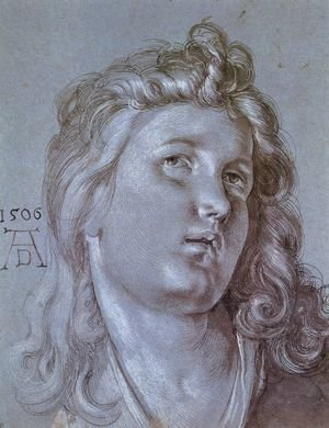 Albrecht Durer - Head Of An Angel