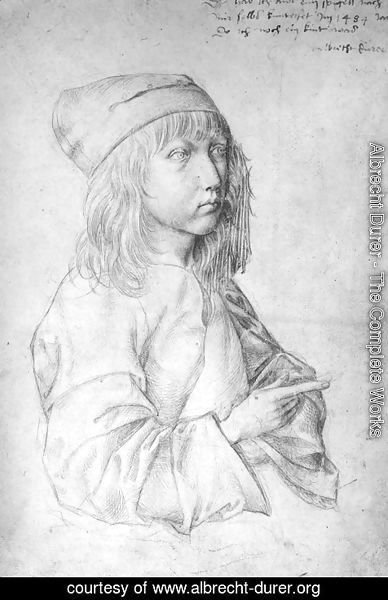 Albrecht Durer - Self Portrait At 13