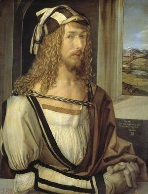 Albrecht Durer - Self Portrait At 26