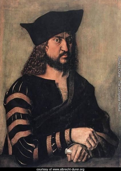 Portrait Of Elector Frederick The Wise Of Saxony
