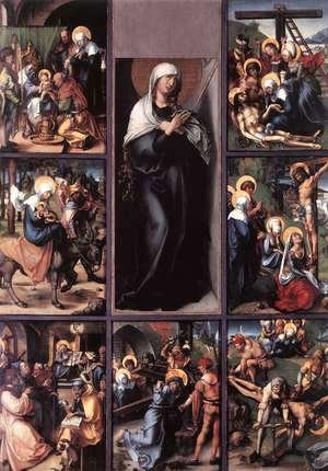 Albrecht Durer - The Seven Sorrows Of The Virgin