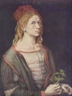 Albrecht Durer - Self Portrait At 22