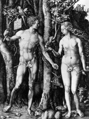 Albrecht Durer - Adam and Eve (The Fall of Man)