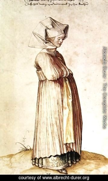 Albrecht Durer - Nuremburg Woman Dressed for Church